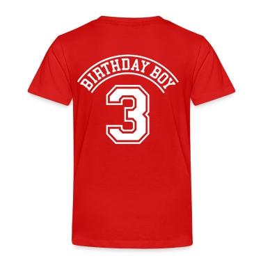 Birthday boy 3 years Toddler Shirts