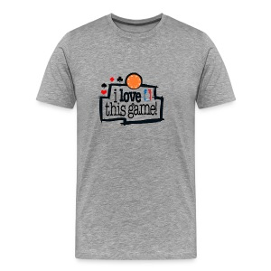 I love this game - Men's Premium T-Shirt