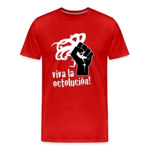 Viva La Octolución (Red) - Men's Premium T-Shirt