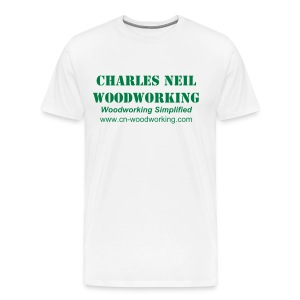 Men's S-XXL - Charles Neil Woodworking Basic Tee - Men's Premium T-Shirt