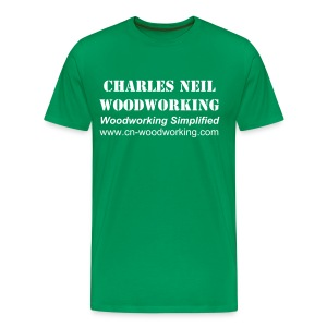 Men's 3X - Charles Neil Woodworking Basic Tee - Men's Premium T-Shirt