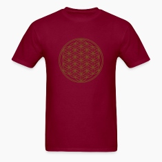 FLOWER OF LIFE - vector | men's heavyweight shirt