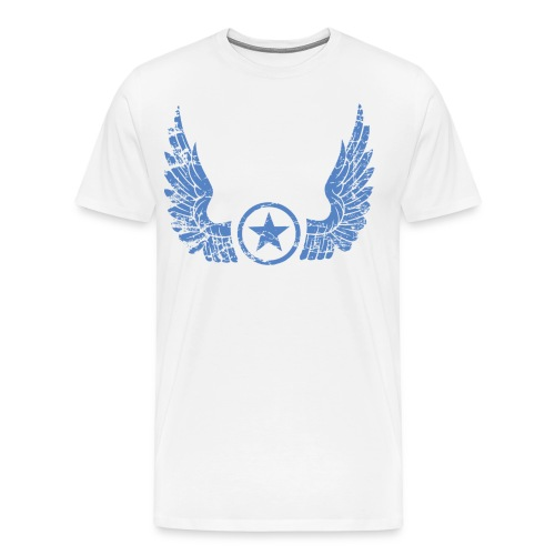 Distressed Wings - Men's Premium T-Shirt