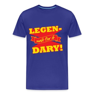 Legen-Dary Men's Heavyweight T-Shirt - Men's Premium T-Shirt