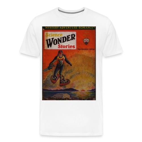 3XL Science Wonder Stories - Men's Premium T-Shirt