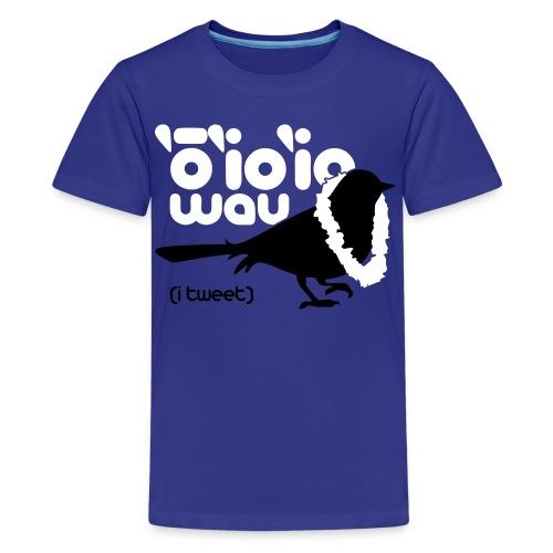(Hawaiian) Twitter - Kids' Premium T-Shirt