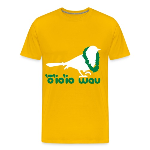 (Hawaiian) Twitter - Men's Premium T-Shirt