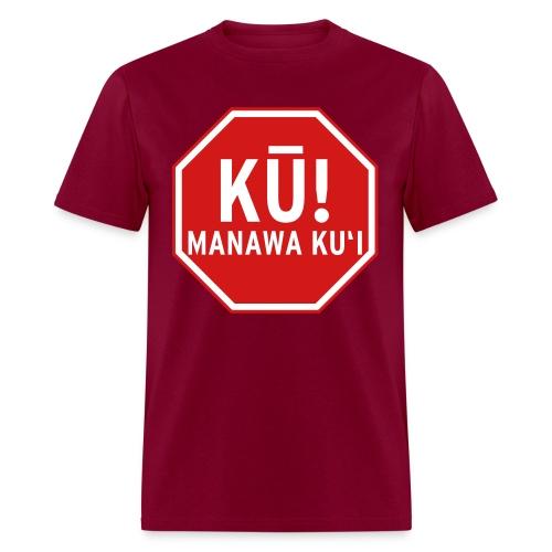(Hawaiian) Stop! Hammer Time! - Men's T-Shirt