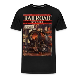 3XL Railroad Stories 5/37 - Men's Premium T-Shirt