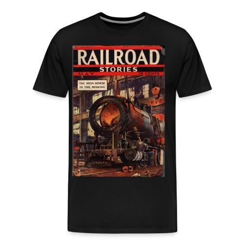 3XL Railroad Stories 5/37 - Men's Premium T-Shirt