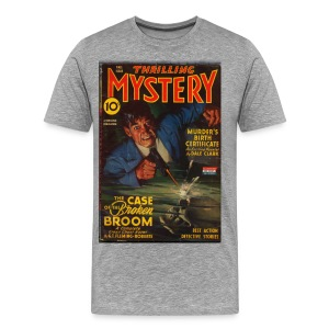 3XL Thrilling Mystery w/Green Ghost Fal/43 - Men's Premium T-Shirt
