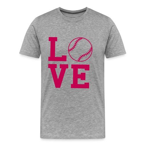 Love Softball - Men's Premium T-Shirt