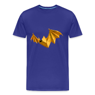 T-Shirts ~ Men's Premium T-Shirt ~ Paper Bat Men's T