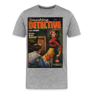 3XL Smashing Detective  - Men's Premium T-Shirt