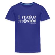 Kids' Shirts ~ Kids' Premium T-Shirt ~ I MAKE MOVIES
