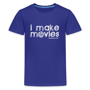 I MAKE MOVIES - Kids' Premium T-Shirt