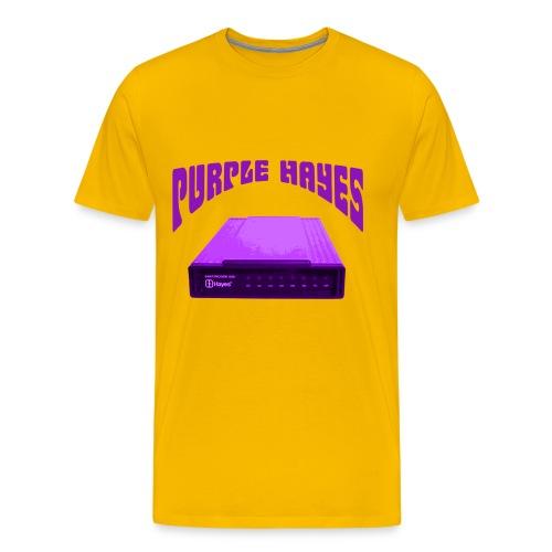 Purple Hayes (modem) - Std Shirt - Men's Premium T-Shirt