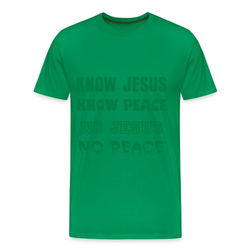 Know Jesus T-shirt - Men's Premium T-Shirt