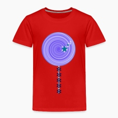 blue lollipop candy Toddler T-Shirt