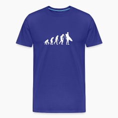 Evolution of Surfing T-Shirts