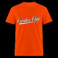 T-Shirts ~ Men's T-Shirt ~ Men's FRONT/BACK: CC/duck homeboy (orange)