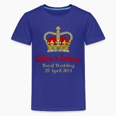 Royal Wedding William & Catherine 29 April 2011 Kids' Shirts