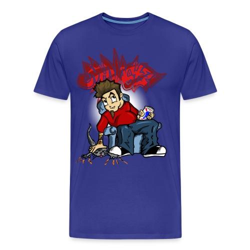McNastee - I'm Wrong 3XL Tee - Men's Premium T-Shirt