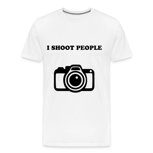 I SHOOT PPL - Men's Premium T-Shirt