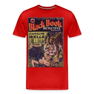 3XL Black Book Detective 3/33 - Men's Premium T-Shirt