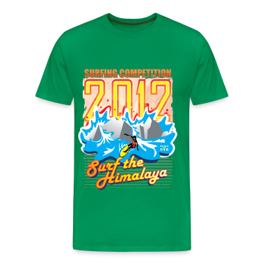 2012 Surfing Competition T-Shirts
