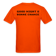 T-Shirts ~ Men's T-Shirt ~ Good Night & Bonne Chance for Men