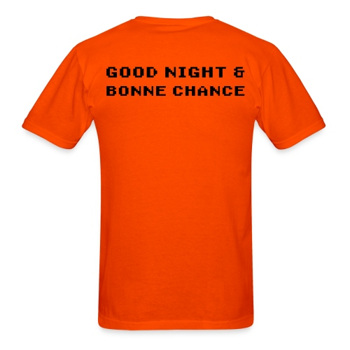 Good Night & Bonne Chance for Men - Men's T-Shirt