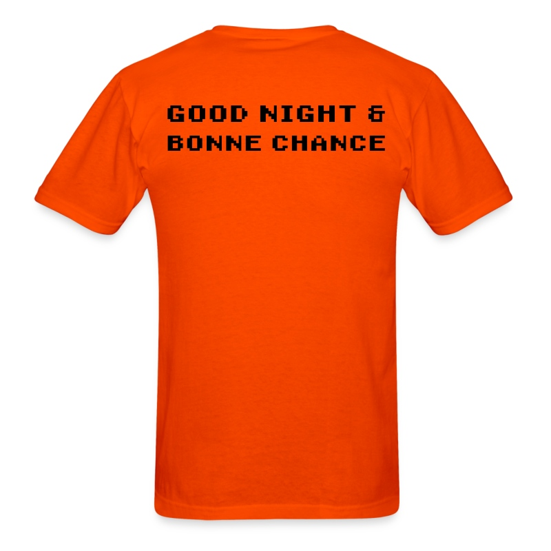 Good Night & Bonne Chance for Men - Men's T-Shirt