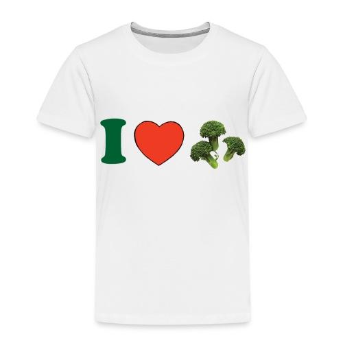 I ♥ Broccoli - Toddler Premium T-Shirt