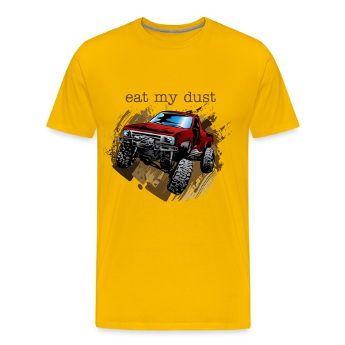 trucks and mud - Men's Premium T-Shirt