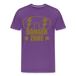 DANGERZONE (Macho King Version) - Men's Premium T-Shirt