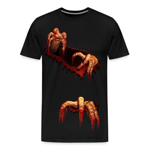 Upon Our Rise tee : Zombie Break Through!! Tee-Shirt - Men's Premium T-Shirt