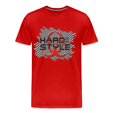 HARD IS MY STYLE - hardstyle stripes | unisex shirt