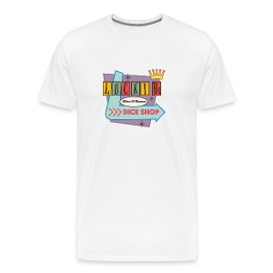 Lucky B's Retro T - Men's Premium T-Shirt