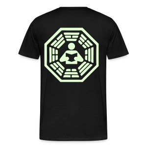 DHARMA Initiative Station: The Reader (Glow-In-The-Dark) - Men's Premium T-Shirt