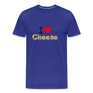 I Love Cheese - Men's Premium T-Shirt