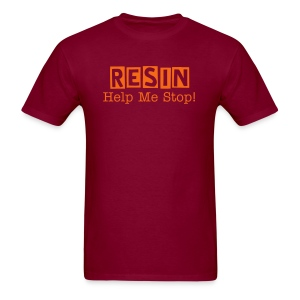 Resin - Help Me Stop - Men's T-Shirt