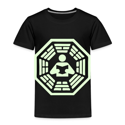 DHARMA Initiative Station: The Reader (Glow-In-The-Dark) - Toddler Premium T-Shirt