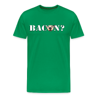 T-Shirts ~ Men's Premium T-Shirt ~ BACON DOG TEASE