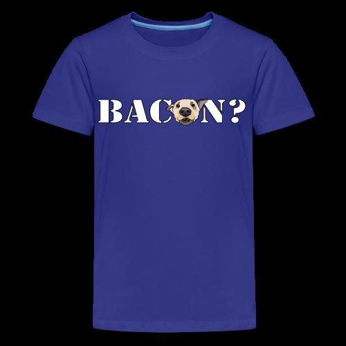 BACON DOG TEASE - Kids' Premium T-Shirt
