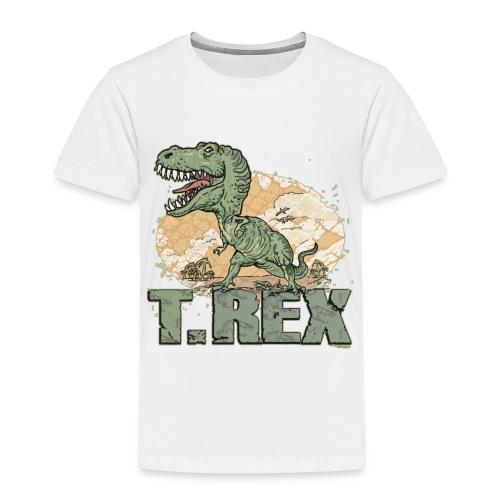 T-rex t-shirt - Toddler Premium T-Shirt