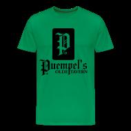 T-Shirts ~ Men's Premium T-Shirt ~ Puempel's Men's XL Logo Tee