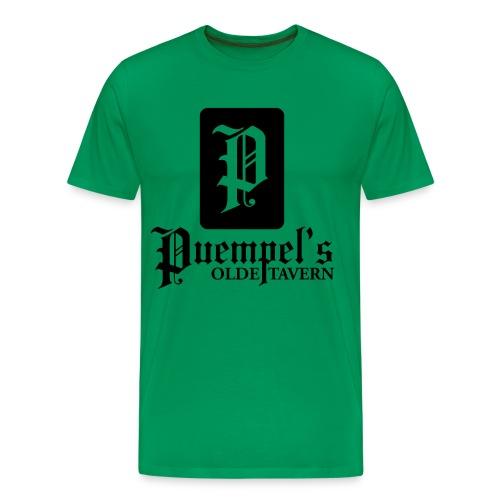 Puempel's Men's XL Logo Tee - Men's Premium T-Shirt
