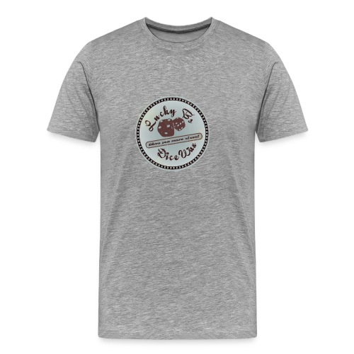 Lucky B's Dice Wax 3XL - Men's Premium T-Shirt