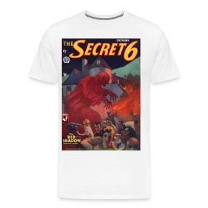 3XL Secret 6: The Red Shadow - Men's Premium T-Shirt